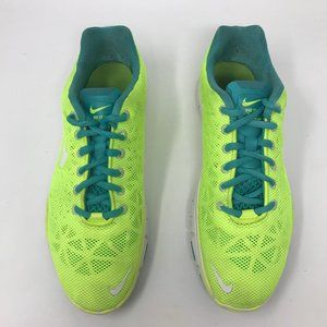 Nike Free Tri Fit 3 Women Running 7.5 Neon Shoes